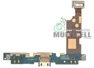FLEX DOCK CONECTOR DE CARGA MICROFONE LG E975 E977 OPTIMUS G ORIGINAL