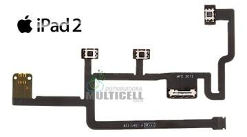 FLEX POWER ON OFF VOLUME 821-1461-A IPAD 2 ORIGINAL