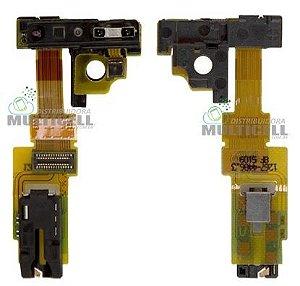 FLEX CONECTOR FONE DE OUVIDO E SENSOR DE PROXIMIDADE SONY C5502 C5503 M36H XPERIA ZR 1ªLINHA