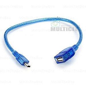 CABO USB V3 X FEMEA REFORÇADO