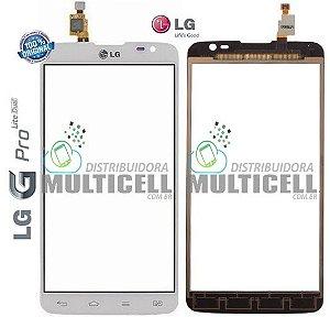 TELA TOUCH SCREEN LG D685 D686 OPITMUS G PRO LITE DUAL BRANCO ORIGINAL (EBD61665601)