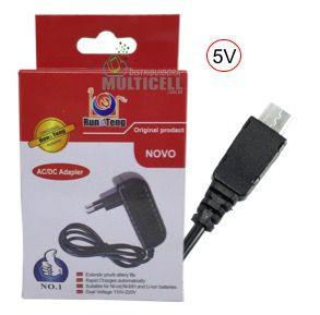 CARREGADOR MICRO USB V8 PARA TABLET 5V VARIOS MODELOS