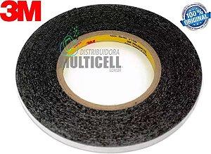 FITA ADESIVO DUPLA FACE 3M ORIGINAL PARA COLAGEM DE TELA TOUCH SCREEN PROFISSIONAL 3mm X 5m