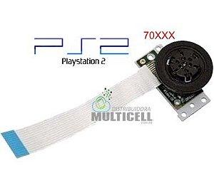 MOTOR CENTRAL POLIA GIRA CD DVD PS2 PLAYSTATION 2 SLIM 70XXX A 75XXX