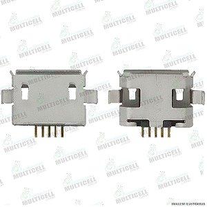 CONECTOR USB DOCK DE CARGA PARA TABLET E CELULARES MODELO UNIVERSAL GV1O4 (5 TRILHAS COM BASE CURVA )
