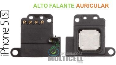 ALTO FALANTE AURICULAR APPLE IPHONE 5S ORIGINAL