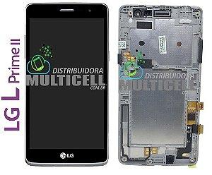 GABINETE FRONTAL TOUCH SCREEN LG X150 X170 X170FTV LPRIME II 100% ORIGINAL