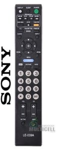 CONTROLE REMOTO TV LCD LED SONY RM-YD023 KDL-32XBR6 LE-039A 1ªLINHA