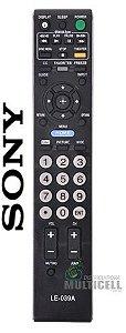 CONTROLE REMOTO TV LCD LED SONY RM-YD023 KDL-32XBR6 LE-039A 1ªLINHA