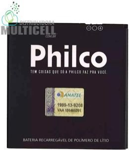 BATERIA PHILCO PHONE PHB-i800DZ PH-500 PH500 500 2100mAh 3,7v ORIGINAL