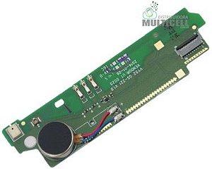 FLEX PLACA MICROFONE E VIBRA D2302 D2303 D2305 D2306 S50H XPERIA M2 SONY XPERIA M2 ORIGINAL