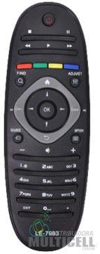 CONTROLE REMOTO TV LCD FHILIPS FBG-7983 SKY-7983 1ªLINHA