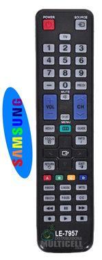 CONTROLE REMOTO TV LCD LED SAMSUNG BN59-01020A SKY-7957 XH-7478 1ªLINHA