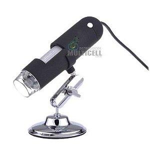 MICROSCÓPIO DIGITAL USB COM AMPLIAÇÃO DE 1000X COM 24BIT DSP ORIGINAL PROFISSIONAL