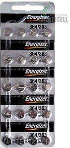 BATERIA CELULA BOTÃO MOEDA SONY ENERGIZER MAXCELL 364 363 SG 620 621 AG-1 LITHIUM 1.55V 100% ORIGINAL CARTELA C/ 20 UND
