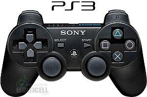 CONTROLE PS3 PLAYSTATION 3 SEM FIO DUAL SHOCK 3 1ªLINHA AAA