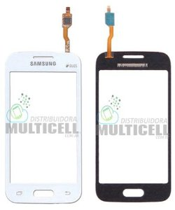 TELA TOUCH SCREEN SAMSUNG G313 G313H G313F G316 G316M GALAXY ACE 4 BRANCO S/ CAMERA 1ªLINHA