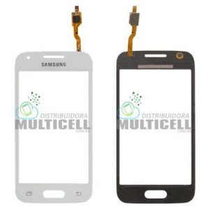 TELA TOUCH SCREEN SAMSUNG G318 GALAXY ACE 4 BRANCO C/ CAMERA 1ªLINHA