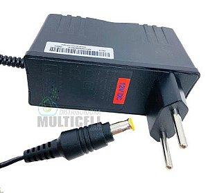 FONTE UNIVERSAL 12V 2.0A PINO GROSSO PARA TABLET GPS FITA LED RECEPTOR DIGITAL WAA017
