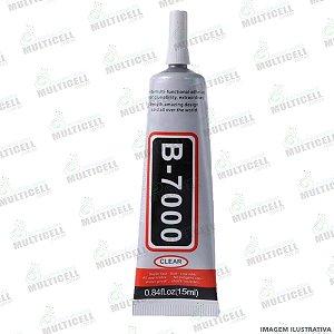 COLA MULTIUSO B 7000 / B7000 / B-7000 PARA REPARO DE TELAS 15ml (BRANCA)
