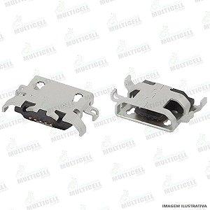 CONECTOR USB DOCK DE CARGA E DADOS MOTOROLA XT1671 XT1672 XT1676 MOTO G5 / XT1600 XT1603 MOTO G4 PLAY / XT1750 XT1752 XT1754 MOTO C