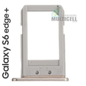 BANDEJA GAVETA CHIP SIM CARD TRAY SAMSUNG G928 SM-G928 G928A G928P G928V G928T G928F G928M GALAXY S6 EDEGE PLUS + DOURADO GOLD ORIGINAL