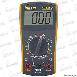 MULTÍMETRO DIGITAL HIKARI HM-1100 HM1100 PROFISSIONAL