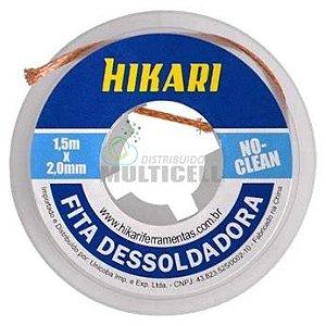 FITA MALHA DESSOLDADORA NO-CLEAN HIKARI 1,5m x 2,0mm HK120-03