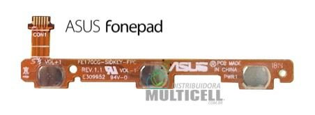 FLEX POWER E VOLUME ASUS FE170 FE170CG FONEPAD ORIGINAL