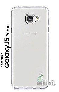 CAPA CASE DE SILICONE TPU SUPER FINA CASCA DE OVO 100% TRANSPARENTE SAMSUNG SM-G570 G570 GALAXY J5 PRIME