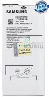 BATERIA SAMSUNG EB-BA710ABE A710 GALAXY A7 2016 3700mhA ORIGINAL