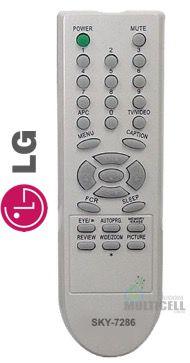 CONTROLE REMOTO PARA TV LG TUBO SKY-7284  FBG-7286 XH-3643 8030 1ªLINHA