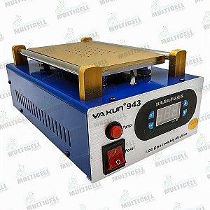 MAQUINA SEPARADORA DE LCD TOUCH SCREEN COM AQUECIMENTO E VACUO COM SUCÇÃO  YAXUN YX-943 220V