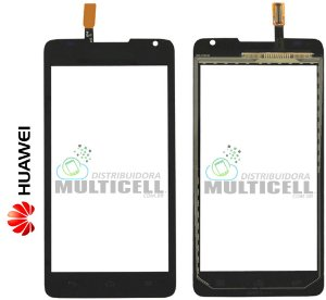TELA VIDRO TOUCH SCREEN HUAWEI Y530 ASCEND PRETO ORIGINAL
