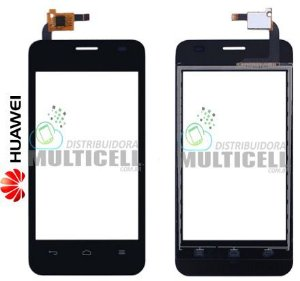 TELA VIDRO TOUCH SCREEN HUAWEI ASCEND Y321 PRETO ORIGINAL