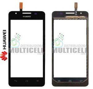 TELA VIDRO TOUCH SCREEN HUAWEI ASCEND G506 G510 PRETO ORIGINAL