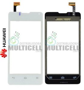 TELA VIDRO TOUCH SCREEN HUAWEI ASCEND Y300 BRANCO ORIGINAL