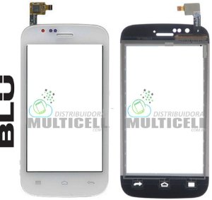 TELA VIDRO TOUCH SCREEN BLU A270 ADVANCE BRANCO ORIGINAL