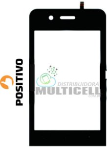 TELA VIDRO TOUCH SCREEN POSITIVO S380 PRETO ORIGINAL