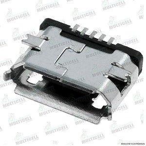 CONECTOR USB DOCK DE CARGA PARA TABLET DL MODELO UNIVERSAL GV1O2 ( BASE RETA 5 TRILHAS )