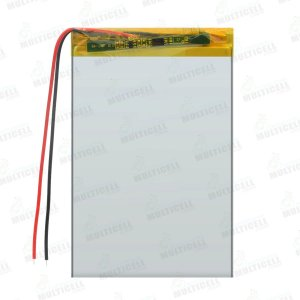 BATERIA TABLET UNIVERSAL 7cm x 10cm 2400mAh (2 FIOS)