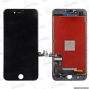 GABINETE FRONTAL LCD DISPLAY MODULO COMPLETO APPLE A1661 A1784 A1785 IPHONE 7 PLUS PRETO 1ªLINHA QUALIDADE AAA