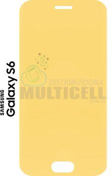 PELÍCULA DE GEL ANTI-IMPACTO SAMSUNG G920 GALAXY S6 FLAT  (COBRE TODA A TELA)