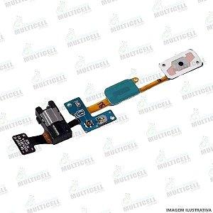 FLEX HOME SENSOR TEC E FONE DE OUVIDO SAMSUNG G610 G610F GALAXY J7 PRIME 1ªLINHA (QUALIDADE AAA)