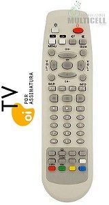 CONTROLE REMOTO RECEPTOR OI TV FBG-7472 1ªLINHA