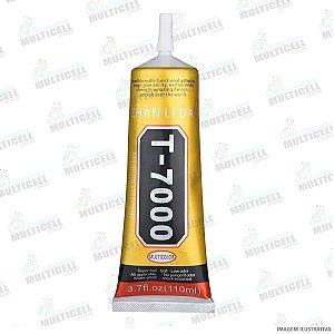 COLA LIQUIDA MULTIUSO T7000 T-7000 PARA COLAGEM E REPARO DE TELA TOUCH SCRENN CELULAR E TABLET 110ML PROFISSIONAL