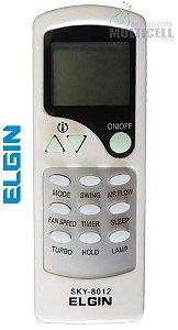 CONTROLE PARA AR CONDICIONADO ELGIN SPLIT SKY-8012 1ª LINHA