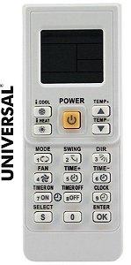CONTROLE PARA AR CONDICIONADO UNIVERSAL CRS-7045