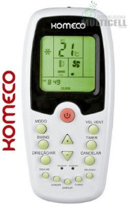 CONTROLE PARA AR CONDICIONADO KOMECO SKY-8020 1ª LINHA
