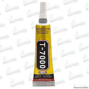COLA LIQUIDA MULTIUSO T 7000 T-7000  T7000 PARA REPARO DE TELA TOUCH SCRENN CELULAR E TABLET 15ML